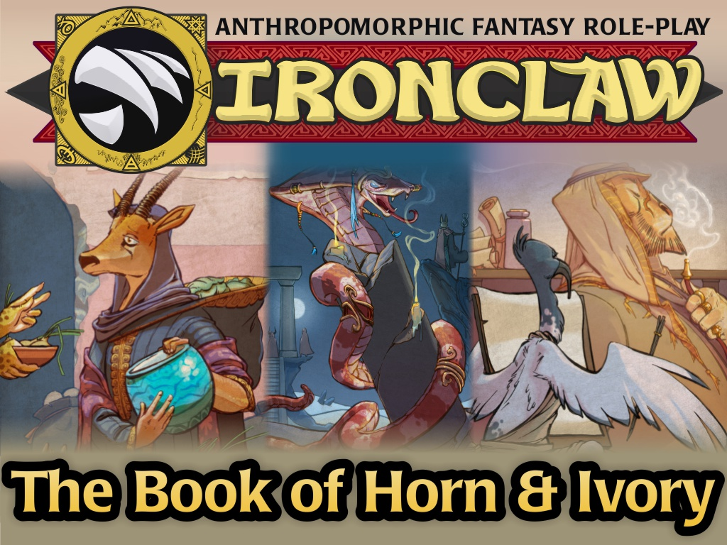 Kickstarter promo - Card Title for Ironclaw Horn & Ivory