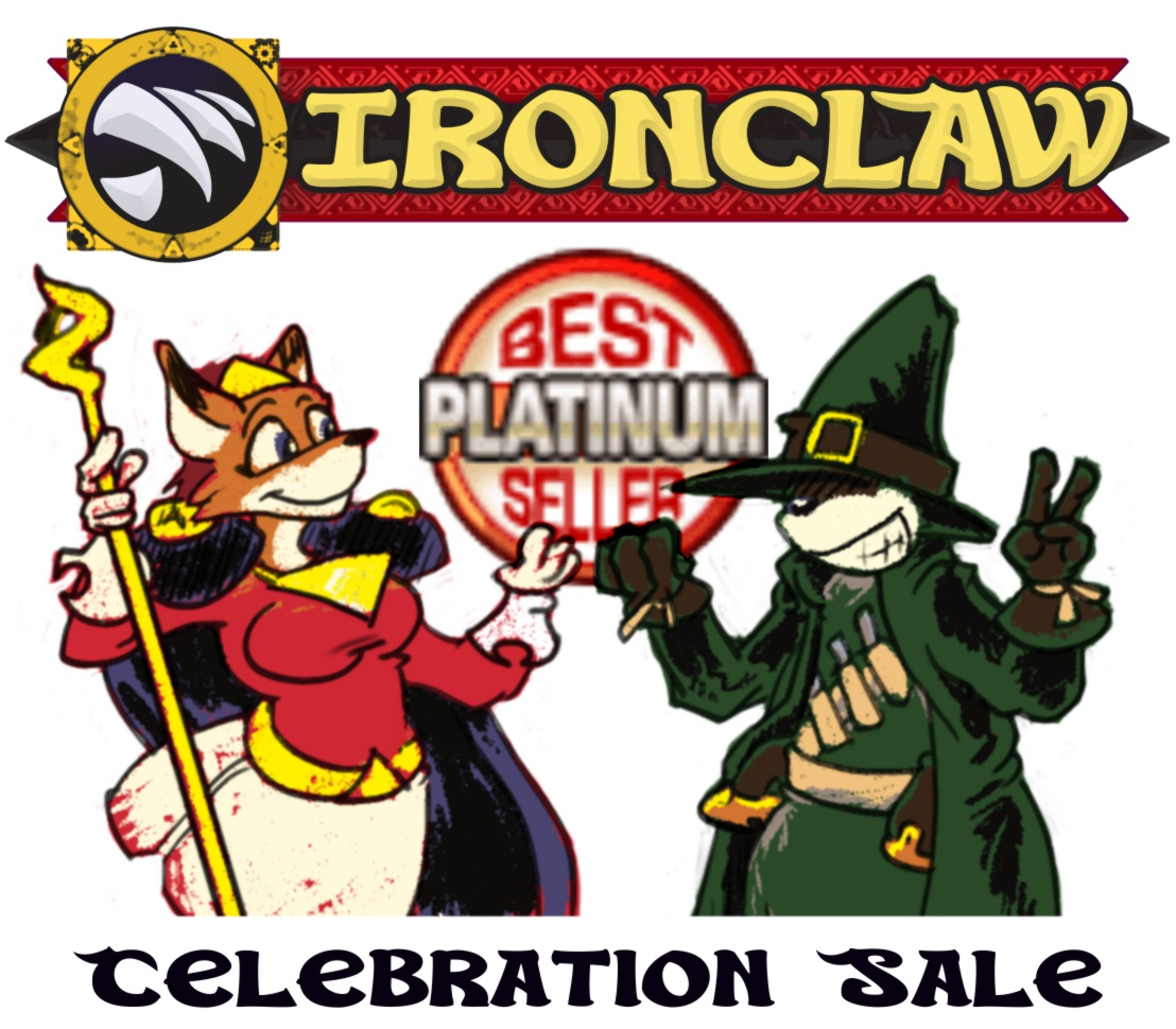 Ironclaw Platinum Celebration